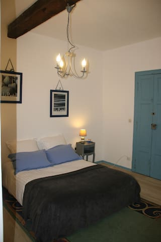 chambre bleue - Les Cammazes - Bed & Breakfast