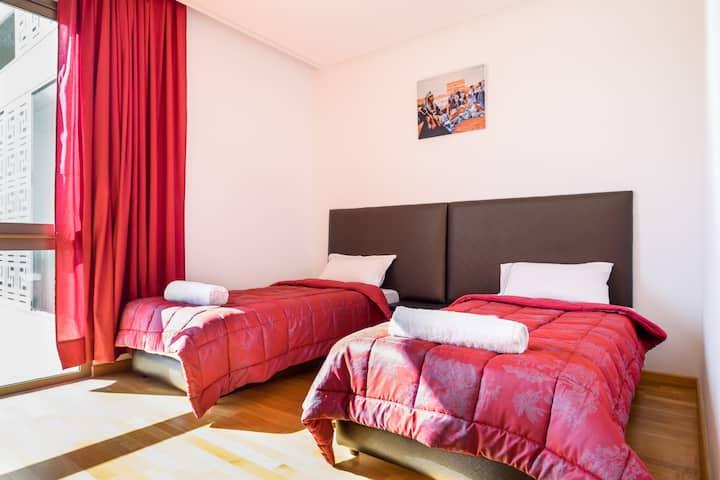 Luxurious flat In Rabat marina