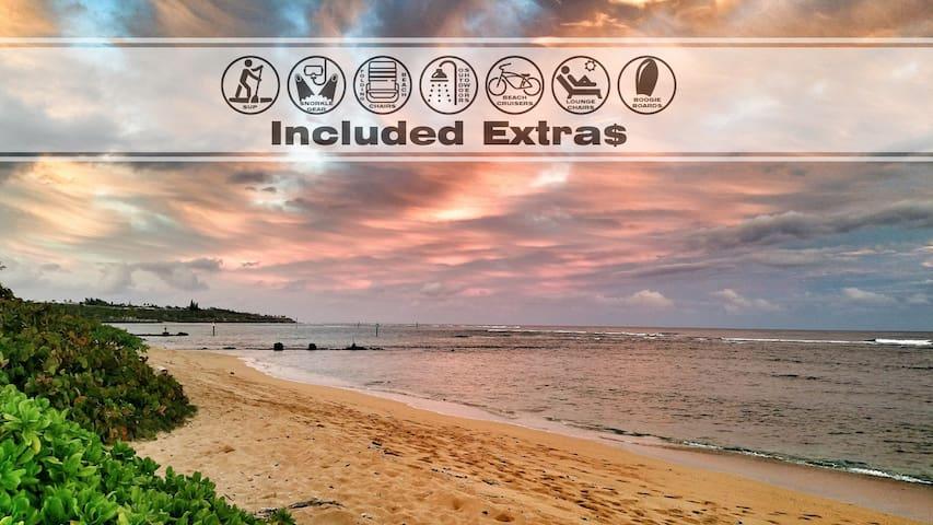 Luxurious Waterfront Bungalow #2 w/ Large Sun Deck