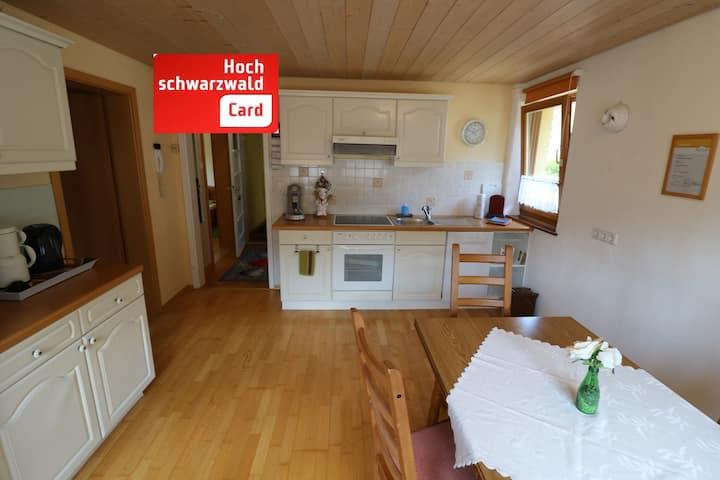 Ferienwohnung/App. für 4 Gäste mit 50m² in Todtnau-Brandenberg (122300)
