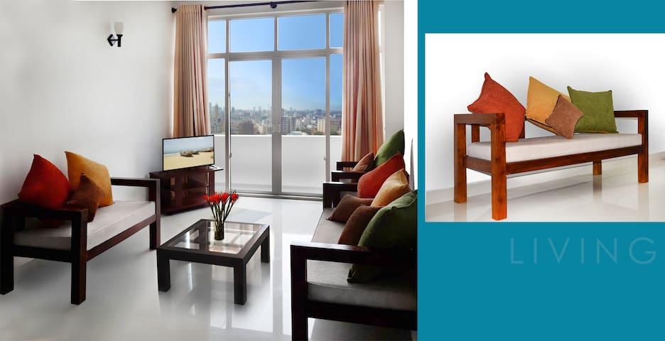 City Tower 2  Bed Sea View Apartment Dehiwala