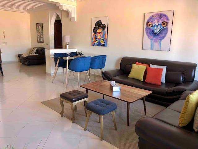Stylish flat in heart of Gueliz