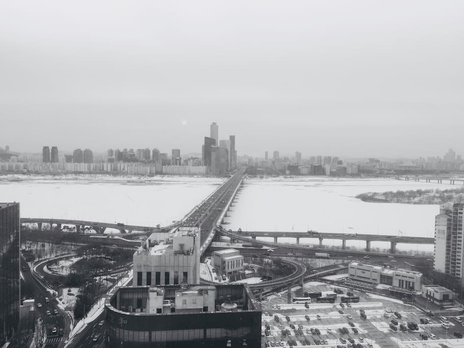Enjoy winter of Seoul
