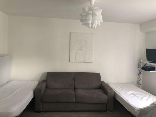 studio clean et calme