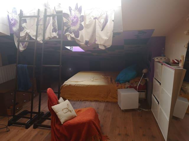 Hermosa habitación para vacaciones!!!