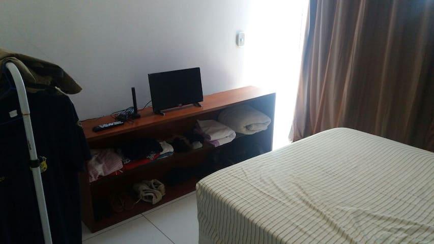 apartamento de 1 quarto mobiliado - 105