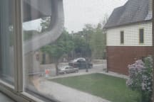 View of Washington Ave from your private apartment