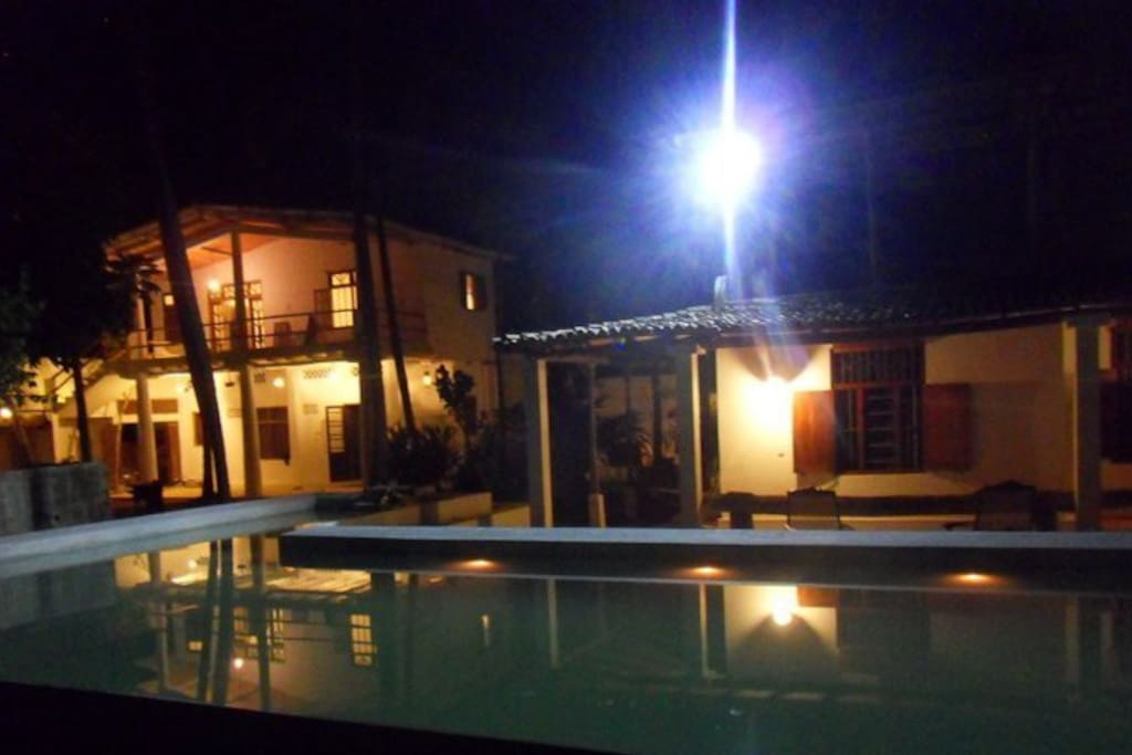 Villa and Paolo Cottage on swimming pool