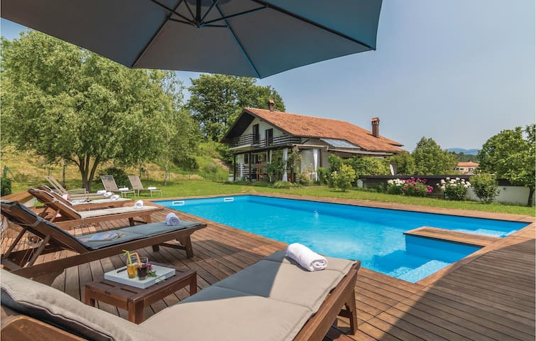 Holiday cottage with 4 bedrooms on 249 m² in Cerovlje