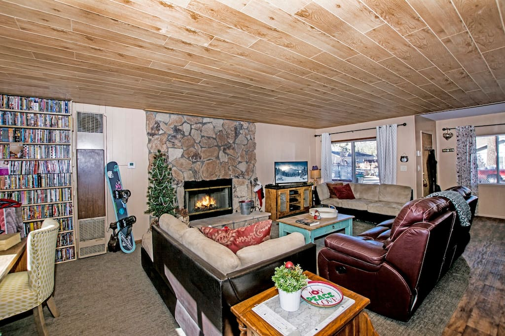 Fairway pines cottages for rent in big bear california for Fairway house cleaning