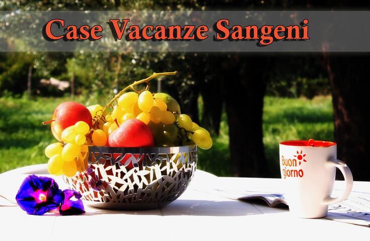 Case vacanze Sangeni n.6, primo piano con terrazza