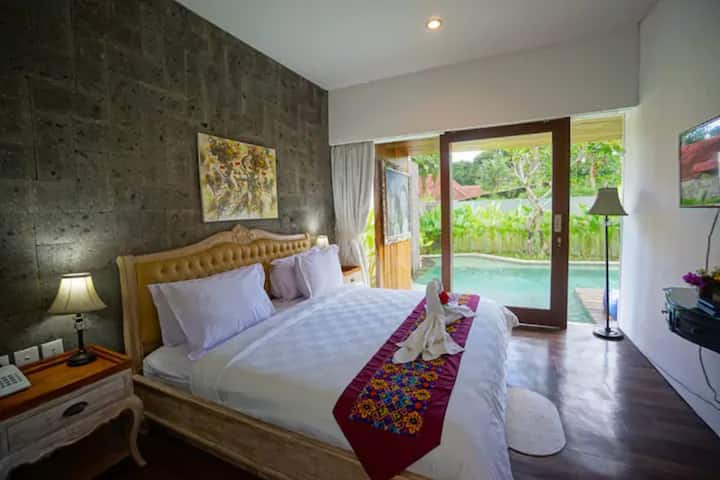 1BR Luxury Villa w/Private Pool in Central Ubud