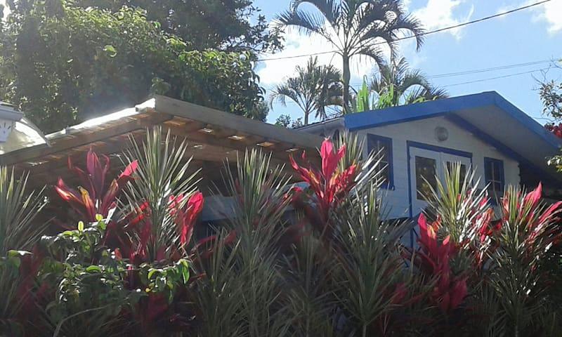 Case créole tout confort,Vue mer,Calme,4'plages - Le Carbet - House