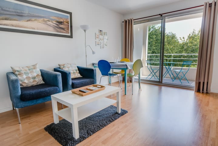☀ Appartement bord de mer ☀ Parking+Vélos fournis