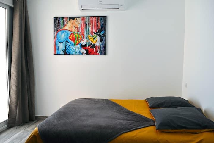 Villa Ibanova 4 -Studio neuf-Balcon-Parking-Clim