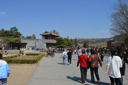 步行5分钟到避暑山庄正门两室整租市中心莹心堂七号院家庭公寓 - Chengde Shi - Lejlighed