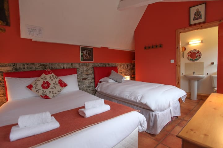 Moville Boutique Hostel - Orange Family Room