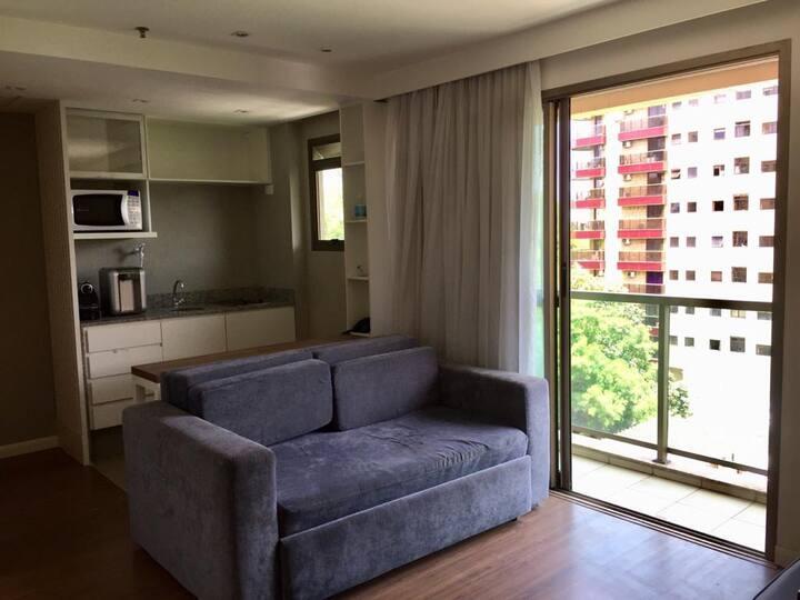 Apart Hotel no Arpoador (Ipanema)  com garagem