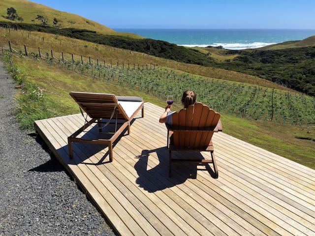 Cosy Getaway @ The Vineyard, Raglan