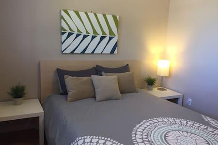 #3 Comfy Queen Room Easy Access 24 - Sacramento - Ház