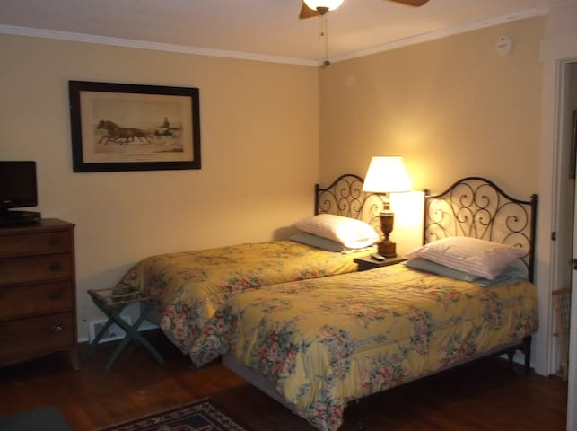 """TIGER'S DEN SUITE""  BUSINESS -WEEKLY -DOGS OK $55 - Anderson  - Bed & Breakfast"