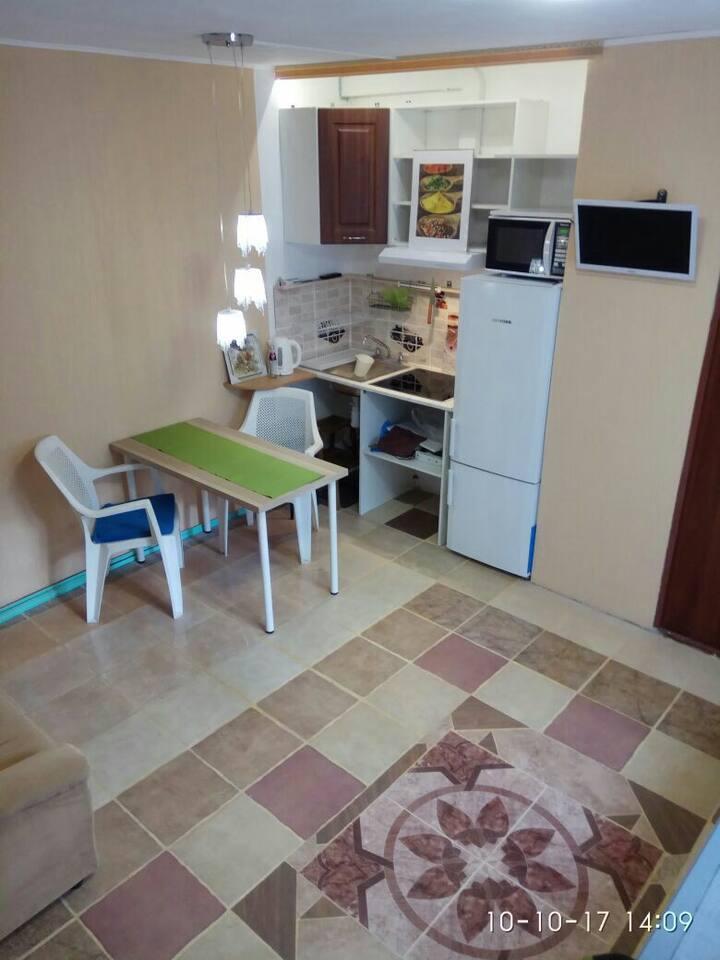 Уютная двухкомнатная квартира в удобном месте