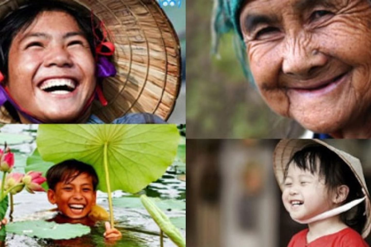 Beauty of Vietnamese smile: WELCOME TO VIETNAM !