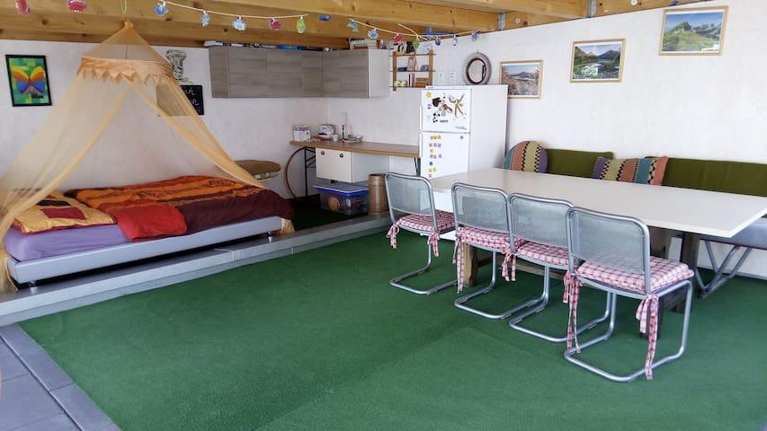 Romantisches Outdoor-Zimmer