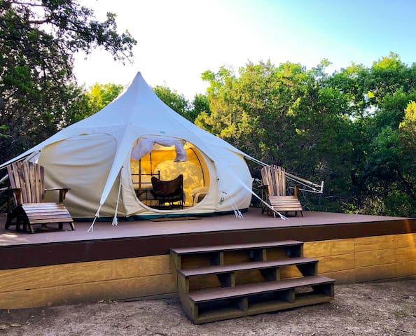 Tumbleweed - modern vintage luxury tent