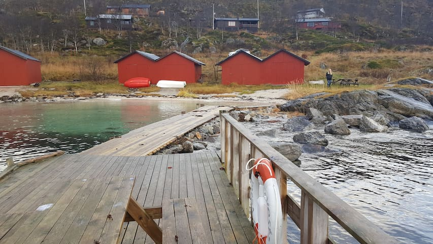 Rakkebu, 25 km from Tromsø city - Tromsø - Cabin