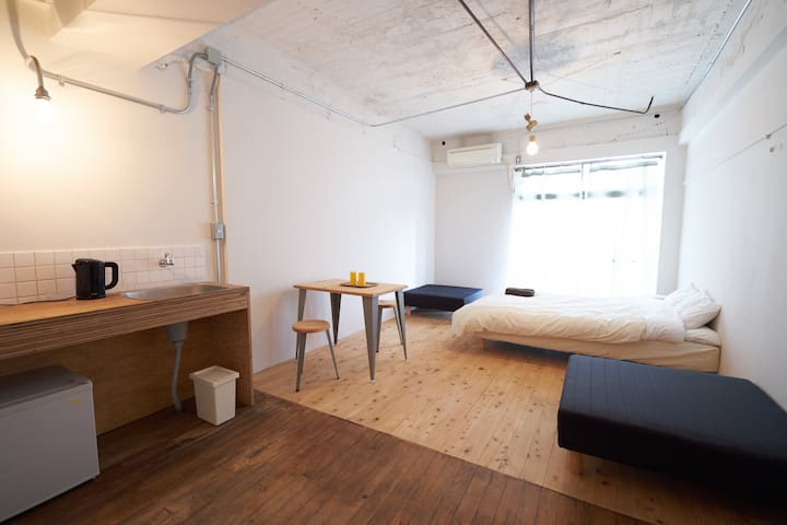 Good access to Naoshima, (D)bed for 1-3guest #D - Tamano-shi