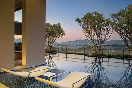 Huahin Next True Arena, Good room, sea view, Wifi
