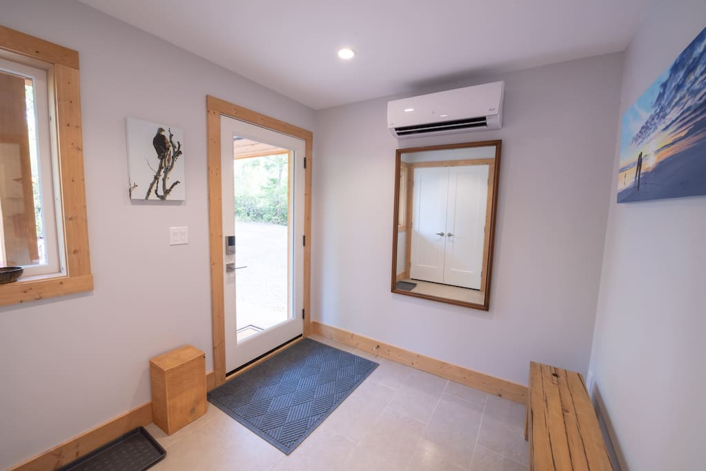 Entryway of the house.