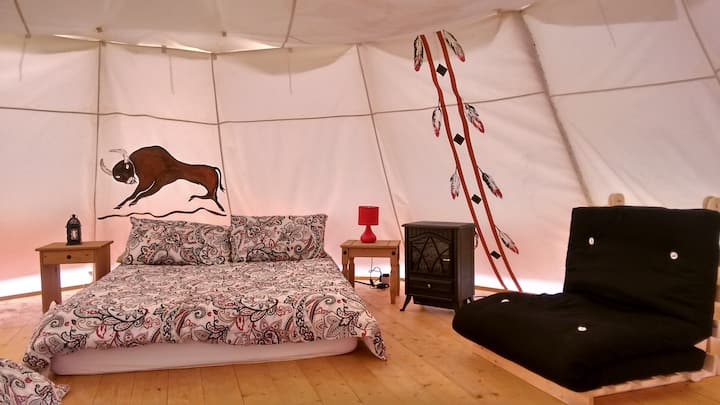 Indian Tipi - Doolin Glamping