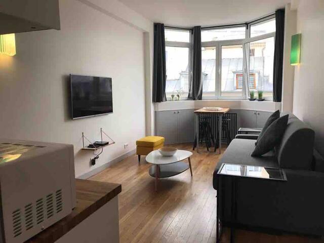 Magnifique studio 4 personnes au cœur de Paris