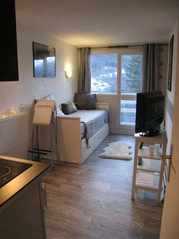 Lovely studio at Serre Chevalier - Saint-Chaffrey - Apartament