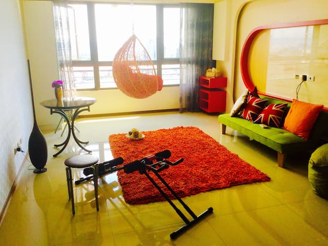 豪宅式整層公寓..飯店管理休閑渡假中心,早餐及使用所有公設