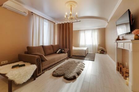 ❤ Уютная люкс-студия на Московской 99 | Sutki26™