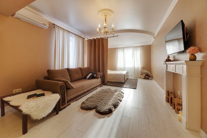 ❤ Уютная люкс-студия на Московской 99   Sutki26™