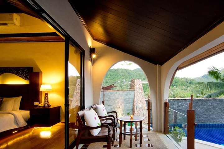 Luxury Villa with Pool - Seaview Koh Phangan - Ban Tai - Villa