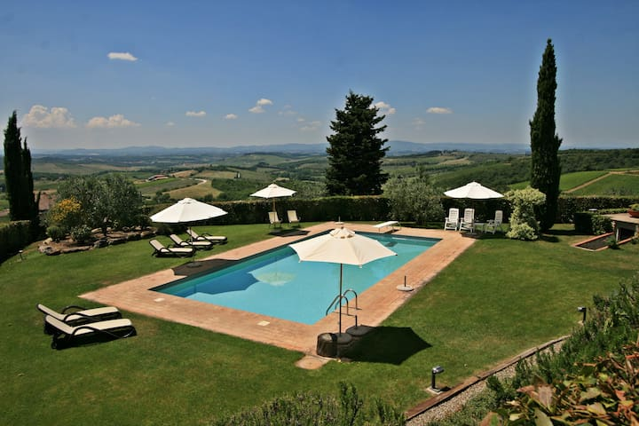 Fabulous and cosy apartment in the Chianti