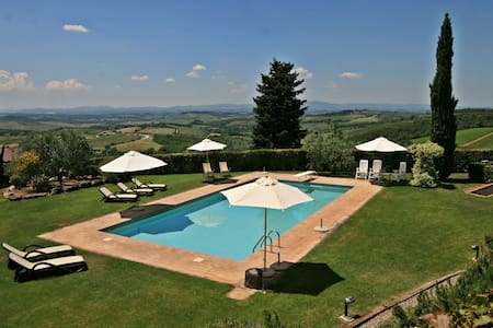 Fabulous and cosy apartment in the Chianti - Castellina in Chianti