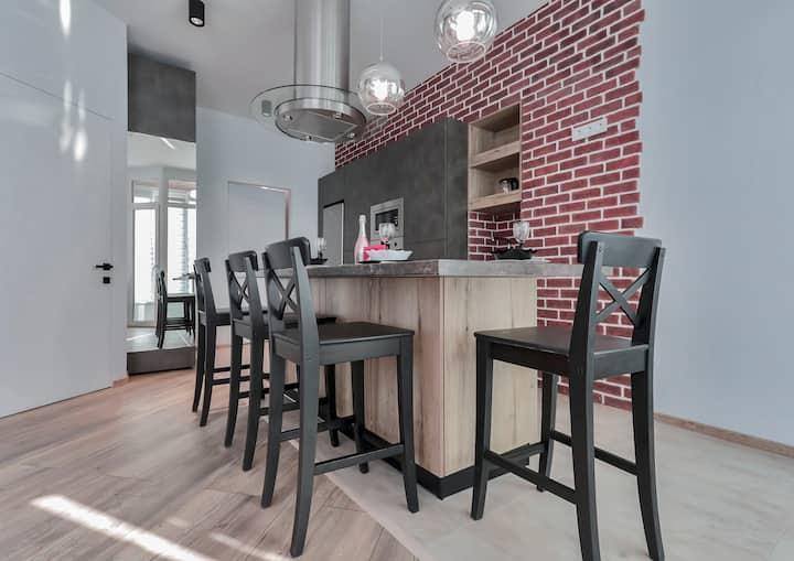 Topline apartments-уютные апартаменты в стиле loft