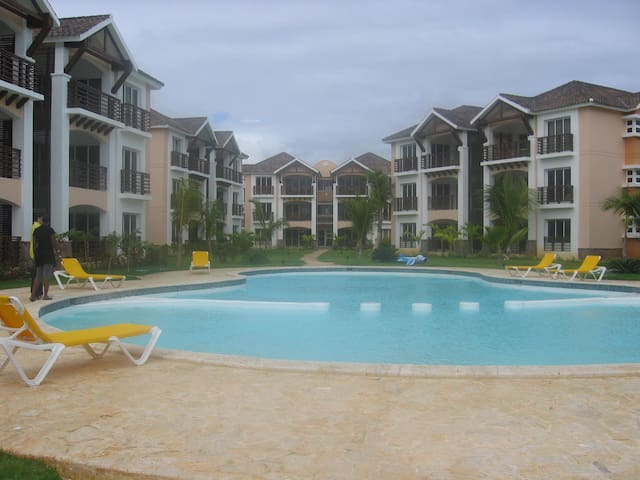 Punta Cana 2 Bedr. up to 6 guests 1/2 mi to Beach