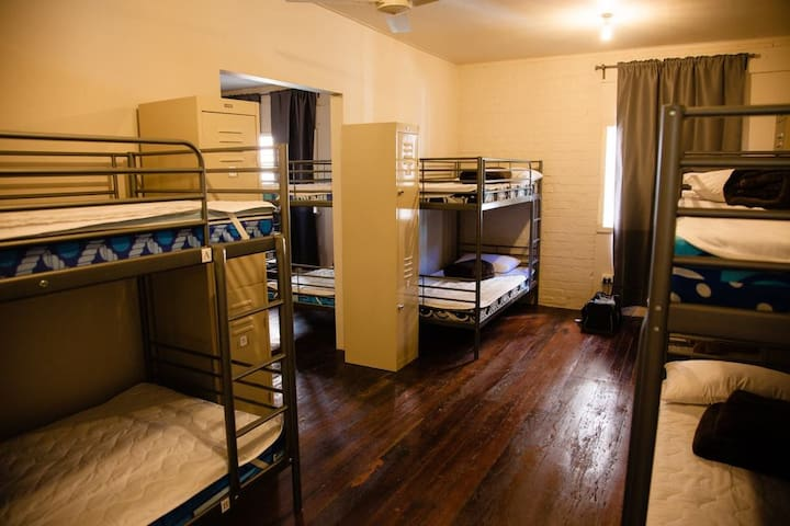 1 Bed in 6 Bed Mixed Dormitory A/C