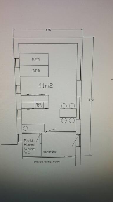 Plan tegning