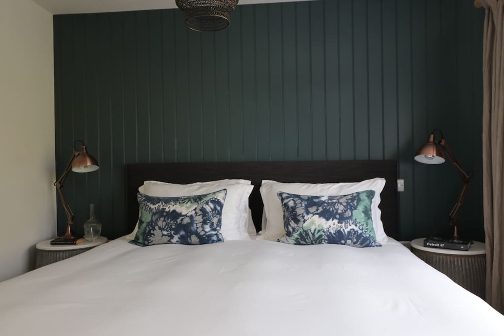 An example of the bedroom interior, this is one of our other properties The Attic