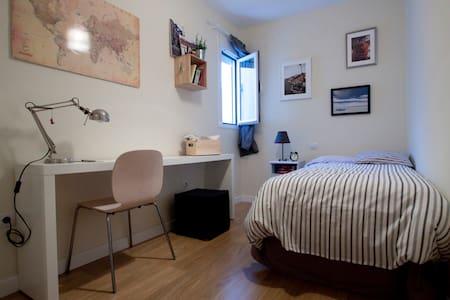 Hab. tranquila y opción a garaje - Apartament