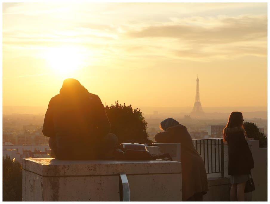 One of the best view of Paris. 20metres from the apartment