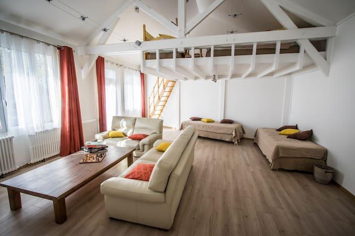 Duplex 70 m2 en pleine nature proche Versailles. - Bièvres - Other